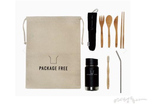 일회용품 대신 사용할 수 있는 패키지프리 제품들.