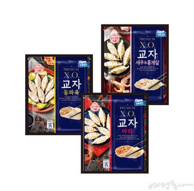 역대급 재료의 콜래보레이션 오뚜기 '프리미엄 X.O. 만두'