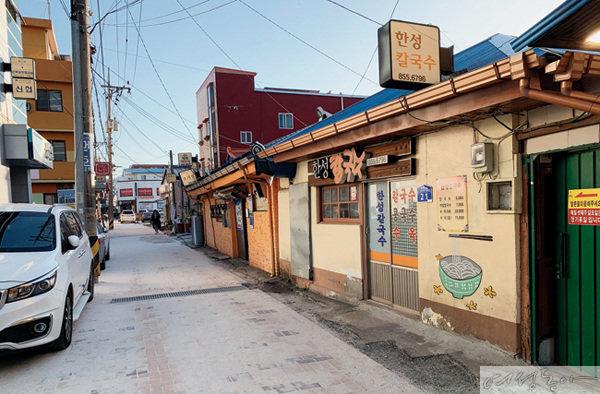 중동성당 등 근대문화유산 보존된 공주 중심지 중동