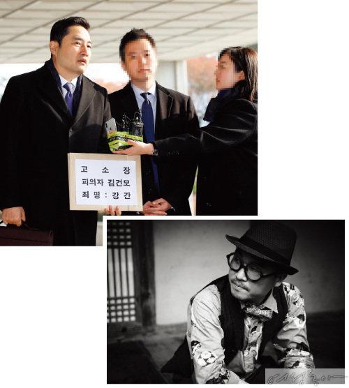 데뷔 이래 최대 스캔들에 직면한 김건모