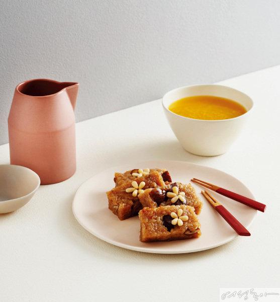 시판 식혜 사용, 시판 약밥과 시판 군밤 사용
