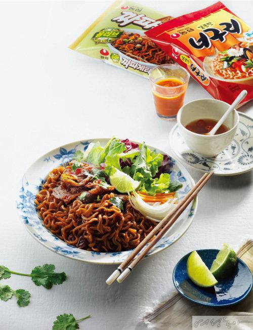 '맛'과 '럭셔리' 겸비 짜파구리의 무한 변신