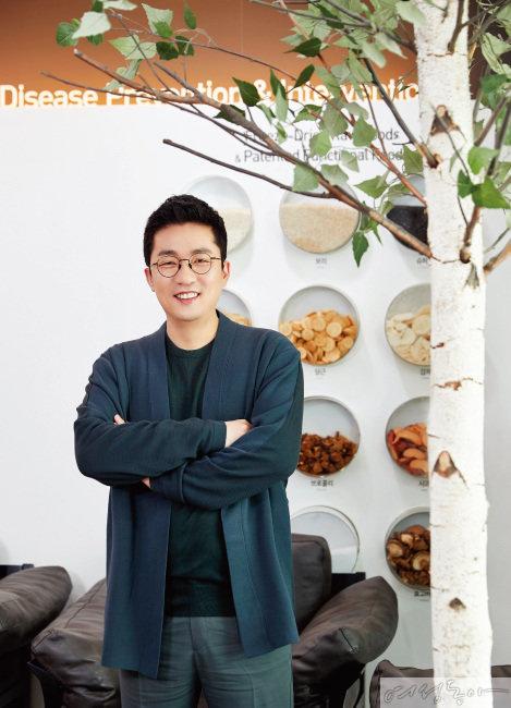 '인생 3막' 김상민 이롬 대표