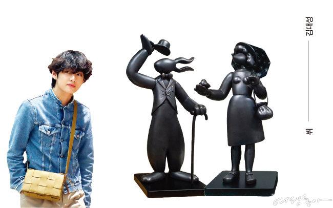 김대성의 '채플린'과 '보리의 산책'