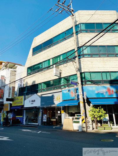 기안84가 매입한 송파구 석촌동 건물.