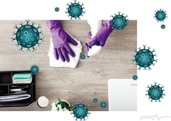 코로나 예방 백신! 바이러스 박멸 청소법