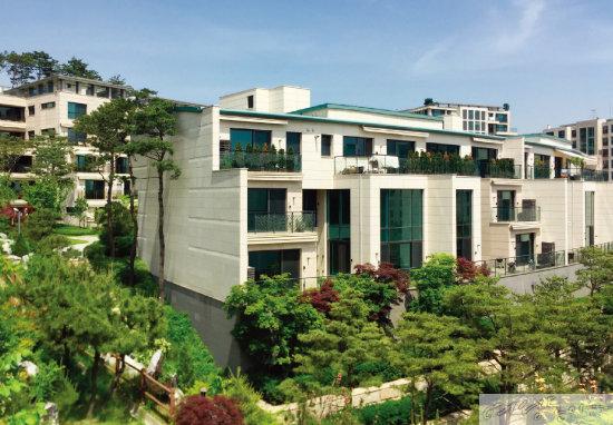 홍석준 보광창업투자 회장의 장남 홍정환 씨가 보유한  한남더힐은 정재계 인사와 연예인들이 거주하는 곳으로 유명하다.