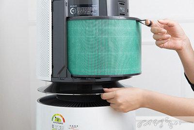 인체 유해성 연구와 임상 실험 통해 성능 입증 LG 퓨리케어 360° 공기청정기