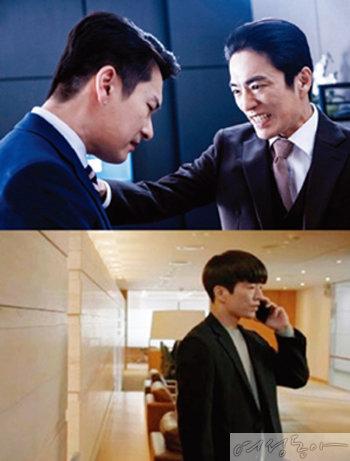 jtbc 드라마 '라이프'(위). tvN 드라마 '슬기로운 감빵생활'.