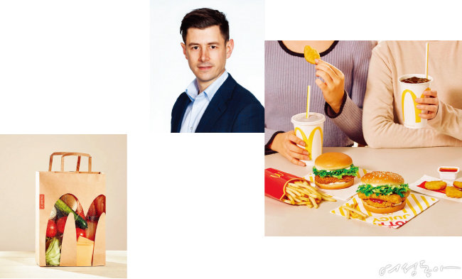 올해 초 새롭게 선임된 한국맥도날드 앤토니 마티네즈 대표. 2000년 호주 빅토리아주 맥도날드 매장에 '크루'로 일하면서 맥도날드와 첫 연을 맺었다.