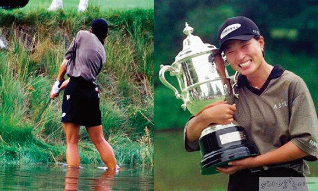 국민들에게 힘을 줬던 1998년 US여자오픈 경기.