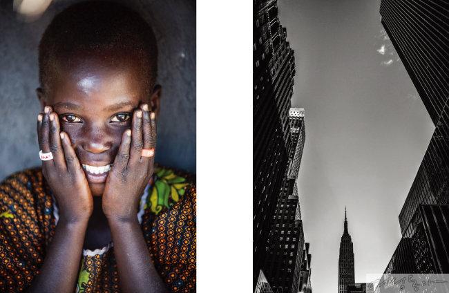 2018 탄자니아 다르에스살람(왼쪽),     2018 뉴욕 브로드웨이.