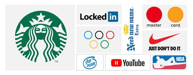 '사회적 거리두기'의 의미를 담은 브랜드 로고 패러디. [출처 behance]