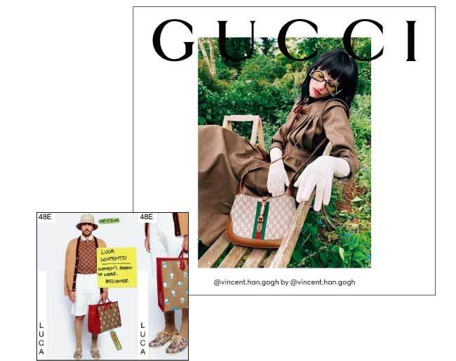 라이브 스트리밍으로 발표한  구찌 에필로그 컬렉션과 모델들의 셀프 촬영 화보 프로젝트 #GuccitheRitual