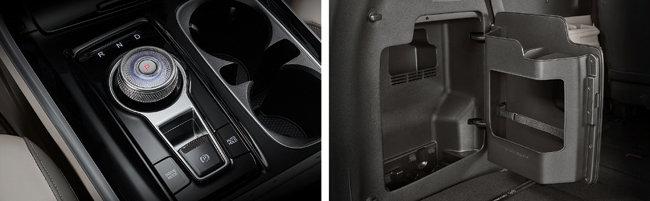 전자식 변속 다이얼과 확장형 센터 콘솔이 적용돼 사용자 편의성을 높였다.