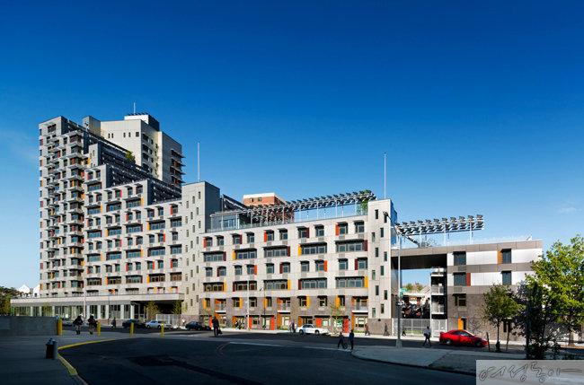 '고급스러운 임대주택'을 표방한 미국 뉴욕 비아베르데.