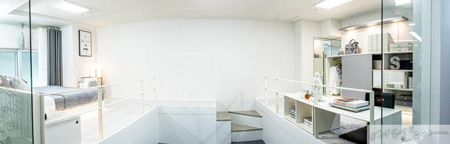현재 한창 분양 중인 강서마곡 투웨니퍼스트는 일반적인 복층 개념을 넘어 원룸과 투룸 모든 타입에 2개의  더블 복층을 두는 구조를 적용해 공간 활용도를 극대화했다.