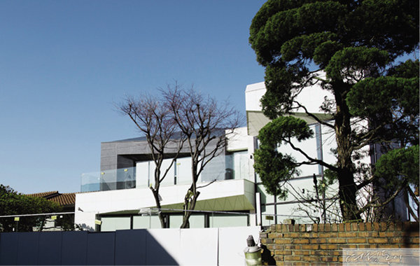 전지현이 2014년부터 거주해온 삼성동 현대주택단지 내 단독주택.