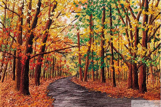 가을숲I. 24㎝×16㎝