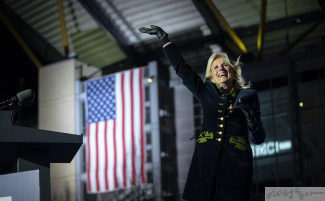 조 바이든 미국 민주당 대통령 후보의 아내, 질 바이든. [GettyImage]