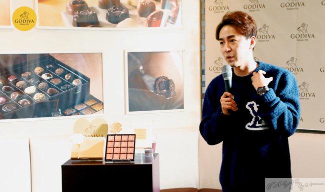 고디바와 메가스터디 영어 일타 강사 조정식은 지난 11월 12일 고디바 광화문점에서 수능 꿀팁 클래스를 진행했다.