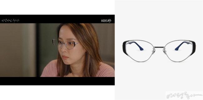 캐츠아이 프레임 안경, 32만5천원, 프로젝트 프로덕트.