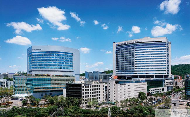 서울 서대문구에 위치한 연세대 신촌세브란스병원.