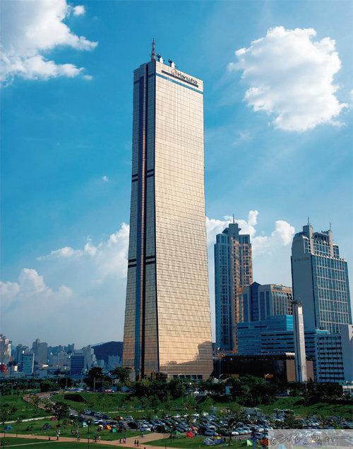 한화생명 63빌딩.