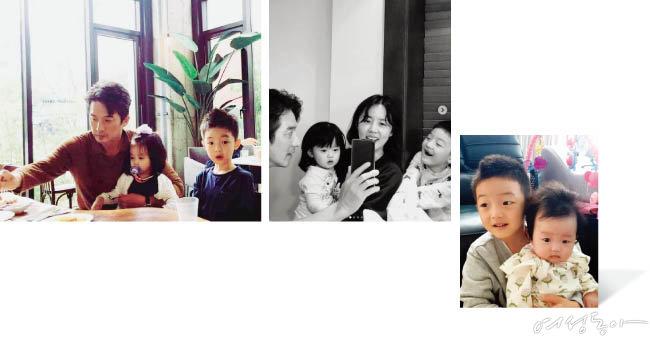 결혼 10주년을 맞은 정준호·이하정 부부는 화목한 일상을  SNS를 통해 공유하며 팬들과 소통하고 있다.