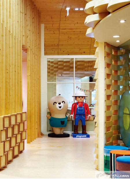엔씨소프트 판교 사옥에 위치한  웃는땅콩 어린이집.
