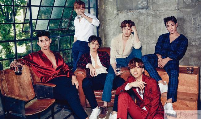 완전체 컴백을 앞둔 2PM.