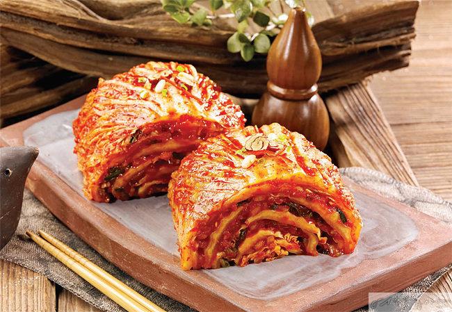 발효식품 김치는 유산균을 다량 함유한 대표적인 음식이다.