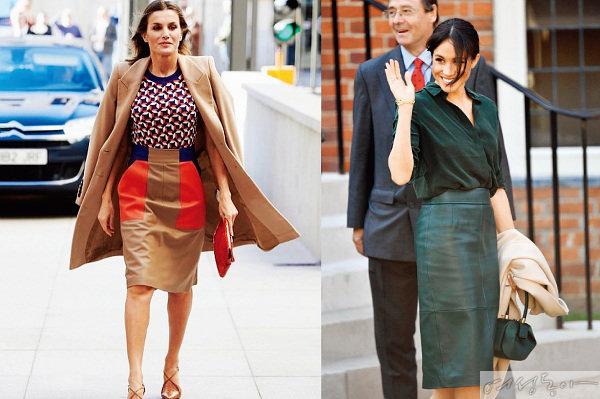 레티시아 스페인 왕비와 메건 마클 같은 세계적인 셀렙들이 염미경 씨가 디자인한 옷을 즐겨 입는다.