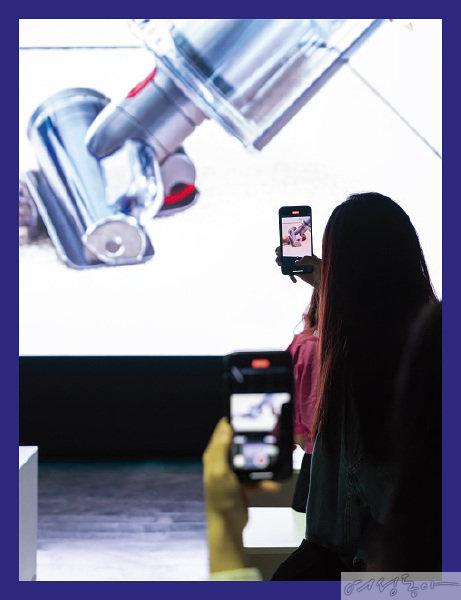 체험에 앞서 신기술과 제품 특장점을 소개하는 프레젠테이션이 진행됐다.
