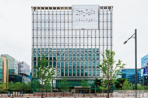 경기도 성남에 있는 메디포스트 본사 전경.
