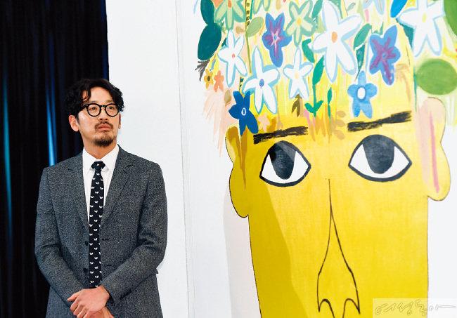 미술업계에 실력을 인정받고 있는 배우 하정우