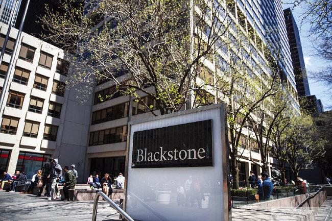 임상민 전무의 남편인 국유진 씨가 근무하고 있는 글로벌 최대 사모펀드 회사 '블랙스톤'.