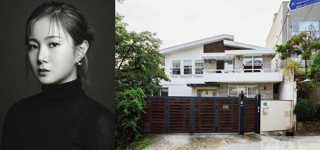 박나래는 얼마 전 3층 규모의 이태원 단독주택을 경매로 낙찰받았다.