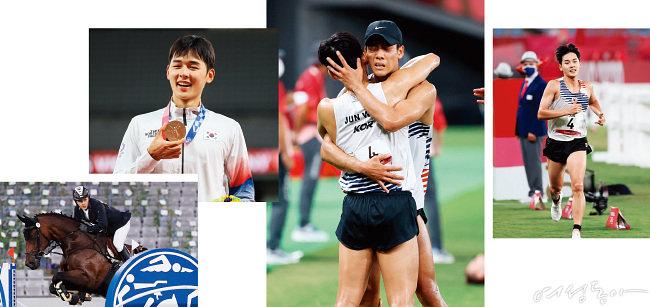 제32회 2020 도쿄 올림픽 근대5종에서 우리나라 첫 올림픽 메달을 획득한 전웅태 선수.