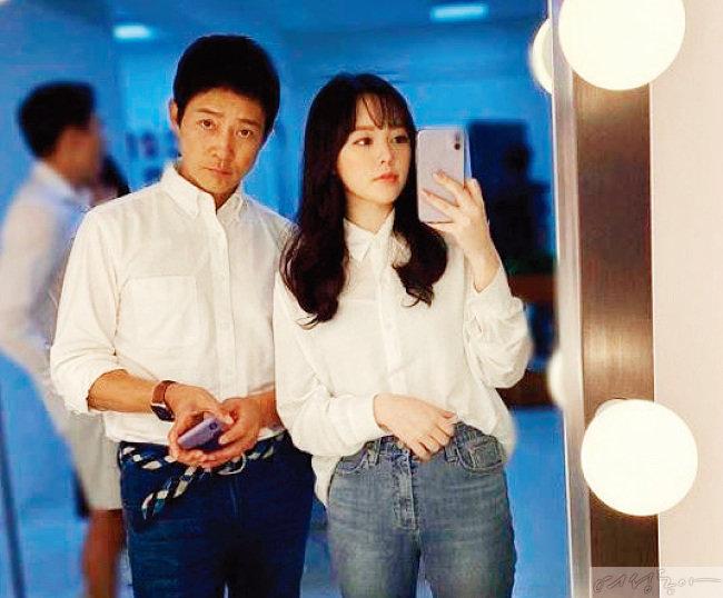 최수종과 딸 윤서 양.
