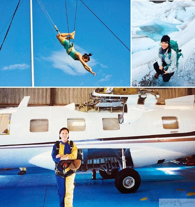 무엇이든 도전하고 경험하기를 좋아했던 지나영 교수는 후회 없는 젊은 시절을 보냈다고 한다.