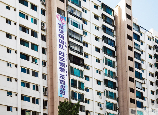 1974년 건설된 용산구 이촌동 점보아파트도 리모델링을 추진 중이다.