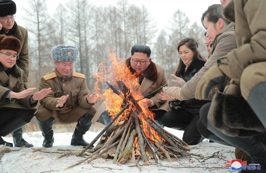 실속도, 두서도 없는 김정은의 백두산 행차