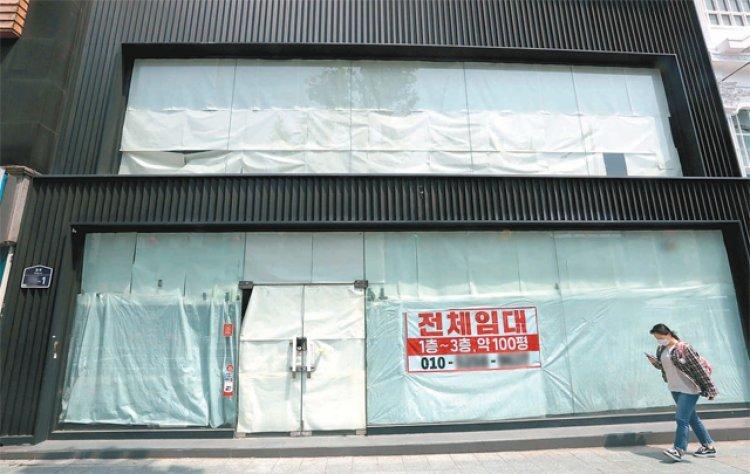 매출 절벽에… 쇼핑메카 명동-동대문도 임대료 '뚝'