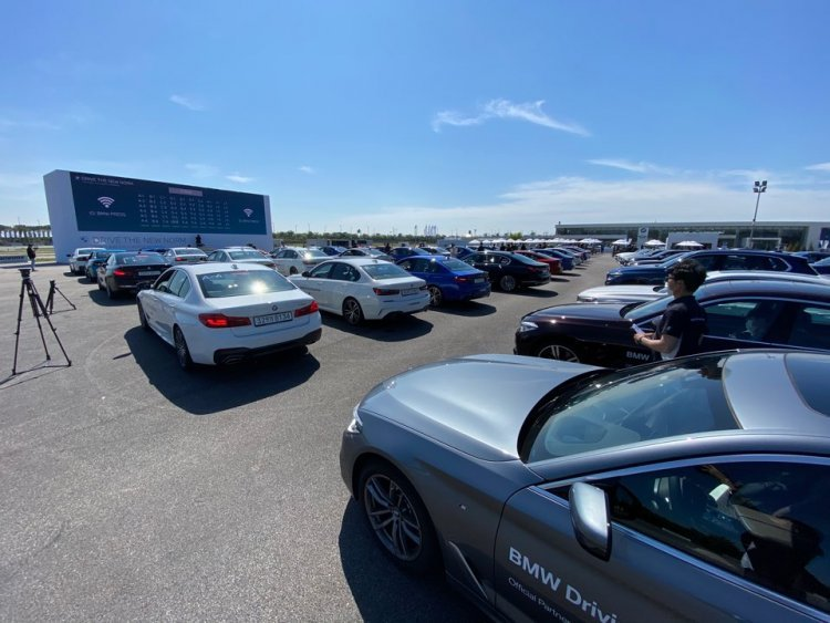 신형 BMW 5·6시리즈 한국서 첫 데뷔… '드라이브 스루' 전세계 생중계