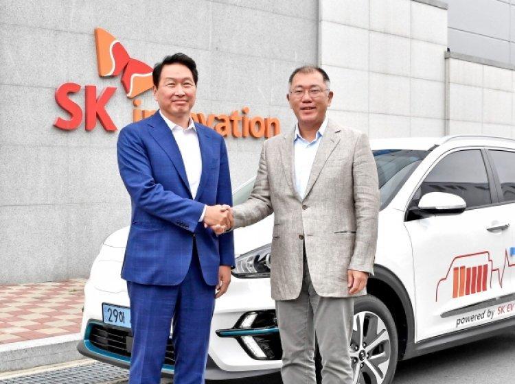 현대차그룹·SK그룹, 차세대 전기차 배터리 개발 협력 논의