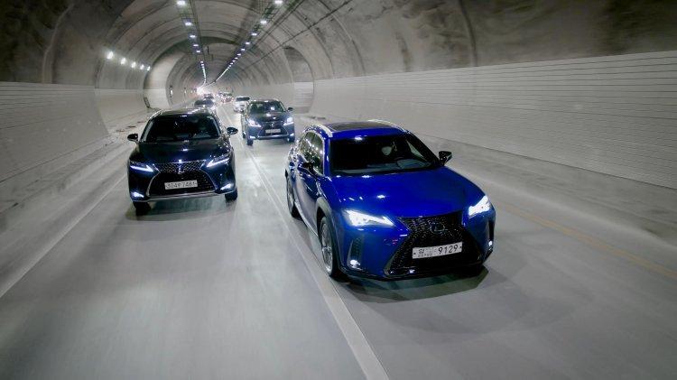 [신차 시승기]렉서스 'UX 250h'… 하이브리드 최적화 SUV