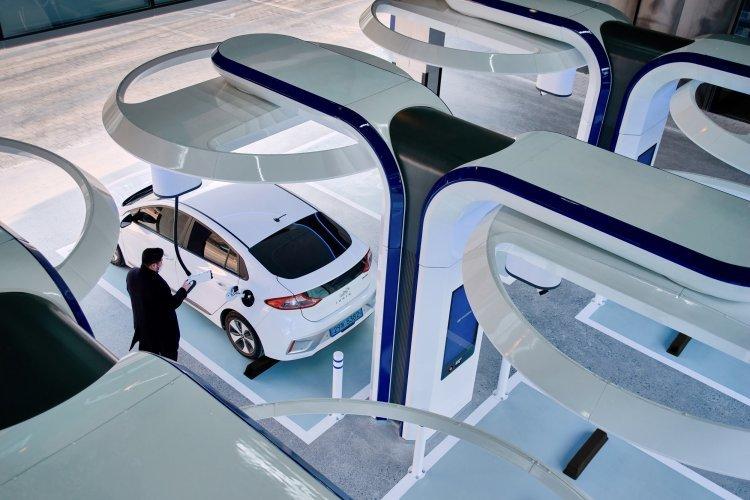 '현대 EV 스테이션 강동' 개소… 초고속 하이차저 8기 설치