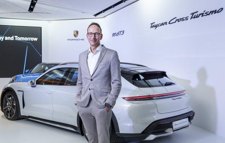 """포르쉐 전기차도 질주…""""2030년 신차 80%는 친환경차"""""""