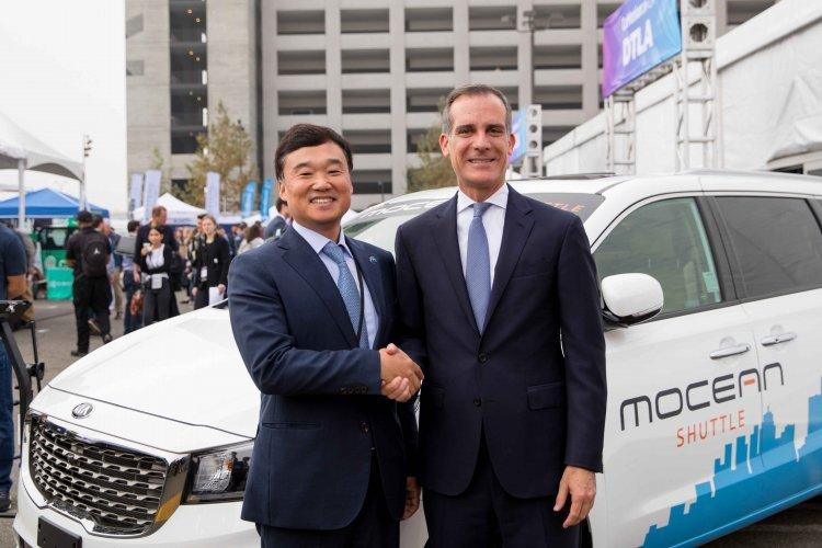 현대차그룹, 美 LA서 미래 핵심 모빌리티 전개